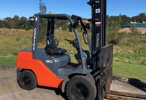 Toyota Economy Class 3.0 Tonne Diesel Forklift in good condition