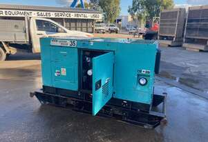 Kubota 30 KVA Diesel Excellent Condition Incl Outlets board