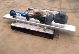 Helical Rotor Pump, IN/OUT: 65mm Dia