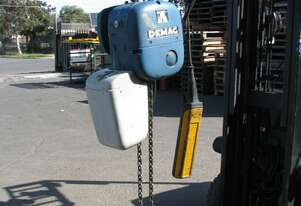 1 Ton Electric Chain Hoist - Demag PK5NF