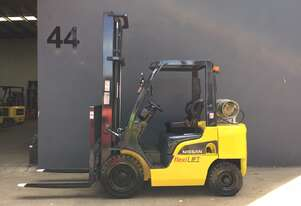 Nissan P1F2A25DU 2.5 Ton LPG Counterbalance Forklift -Fully Refurbished with New Engine