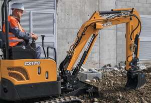 CASE B-SERIES MINI-EXCAVATORS CX17C