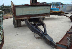 HYDRAULIC TIP TRAILER - 2900MM LONG X 2250MM WIDE