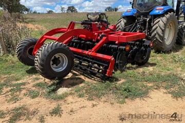 Rocca SupaTill Speed Disc Vertical Tillage ST-300 With Rear Wheel Kits Extreme Quality