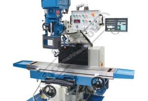 BM-70VE Turret Milling Machine (X) 1050mm (Y) 420mm (Z) 500mm Includes Digital Readout