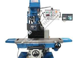 BM-70VE Turret Milling Machine (X) 1050mm (Y) 420mm (Z) 500mm Includes Digital Readout - picture7' - Click to enlarge