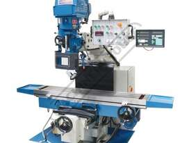 BM-70VE Turret Milling Machine (X) 1050mm (Y) 420mm (Z) 500mm Includes Digital Readout - picture0' - Click to enlarge