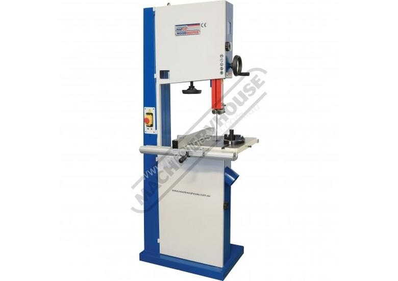 BP-430 Wood Band Saw 415mm throat x 310mm Height Capacity