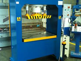 310Ton H Frame Heavy Duty Hydraulic Platen Press - picture2' - Click to enlarge