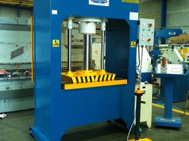 310Ton H Frame Heavy Duty Hydraulic Platen Press - picture4' - Click to enlarge