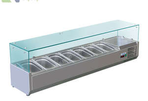 BAIN MARIE, 7 X 1/3 GN TRAYS NOT INCLUDED VRX-1600