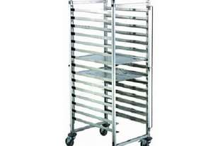 15 TIER STAINLESS STEEL GASTRONORM TROLLEY- GNT-15