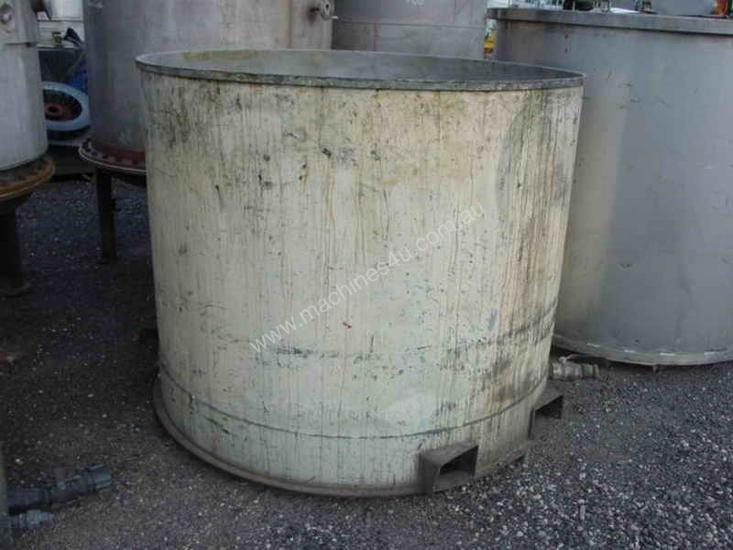 2000 L Stainless Steel Tank