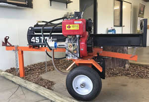 Diesel 45 Ton Log Splitter with electric start 11hp engine
