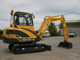 New Yuchai YC35-8 Mini Excavator with A/C Cabin - picture6' - Click to enlarge