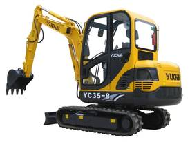 New Yuchai YC35-8 Mini Excavator with A/C Cabin - picture3' - Click to enlarge