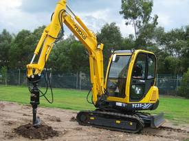 New Yuchai YC35-8 Mini Excavator with A/C Cabin - picture0' - Click to enlarge