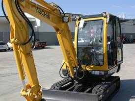 New Yuchai YC35-8 Mini Excavator with A/C Cabin - picture2' - Click to enlarge