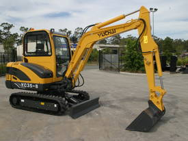 New Yuchai YC35-8 Mini Excavator with A/C Cabin - picture8' - Click to enlarge