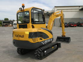 New Yuchai YC35-8 Mini Excavator with A/C Cabin - picture9' - Click to enlarge