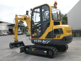 New Yuchai YC35-8 Mini Excavator with A/C Cabin - picture10' - Click to enlarge