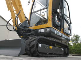 New Yuchai YC35-8 Mini Excavator with A/C Cabin - picture11' - Click to enlarge