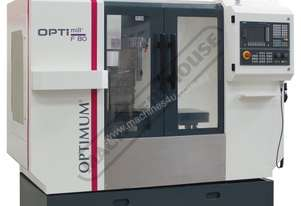 F80TC Opti-Mill Optimum CNC Milling Machine (X) 400mm (Y) 250mm (Z) 400mm