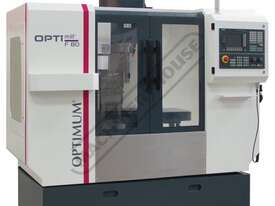 F80TC OPTi-Mill Optimum CNC Milling Machine (X) 400mm (Y) 250mm (Z) 400mm - picture0' - Click to enlarge