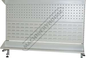 IBP-12 Industrial Backing Panel - Bench Mount 1133 x 205 x 825mm  Suits IWB-12 Work Bench