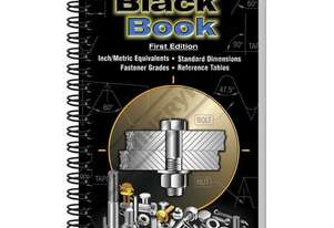 L344 Fastener Black Book - 1st Edition 247 Pages Includes Thread Pitch Identification Gauge