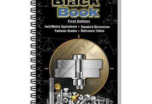 L344 Fastener Black Book - 1st Edition 247 Pages - Includes Thread Pitch Identification Gauge The La