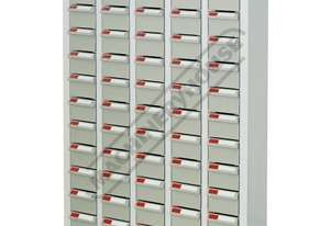 PTB-60 Parts Storage Bins 60 Bins - 586 x 222 x 937mm A8560