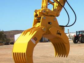 Hydraulic Rake Grapples  - picture5' - Click to enlarge