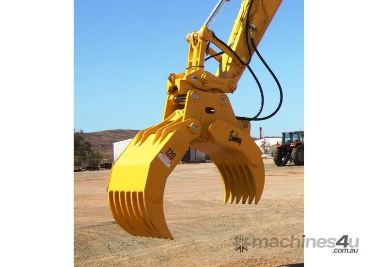 Hydraulic Rake Grapples