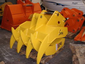 Hydraulic Rake Grapples  - picture4' - Click to enlarge