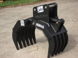 Hydraulic Rake Grapples  - picture6' - Click to enlarge