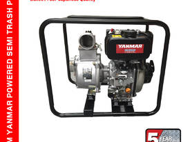 80MM Semi Trash Pump - YANMAR DIESEL