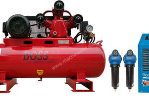BOSS 20CFM/ 5.5HP Compressor with Dryer & Filter Package