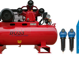 BOSS 20CFM/ 5.5HP Compressor with Dryer & Filter Package  - picture0' - Click to enlarge