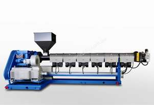 Single Screw Plastic Extruder - NEW Made to Order
