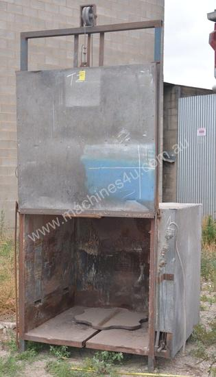 Used Unspecified Gas Fired Die Preheat Or Burnout Oven