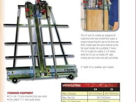 C4 Vertical Panel Saw (1270mm Crosscut) - picture2' - Click to enlarge