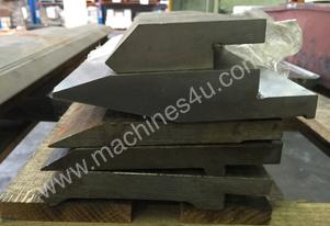 USED Assorted Top Pressbrake Tooling
