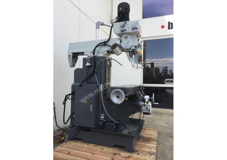 Feature Packed Vertical & Horizontal Mill, Z Feed
