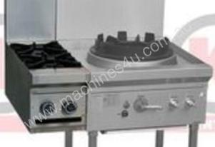 LKK-OB2-CL 2 GAS OPEN BURNER CLIP ONTO GAS WOK