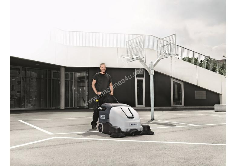Nilfisk .SW900 Walk behind Battery Powered sweeper