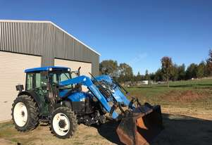 New Holland TN70D 4WD tractor for sale