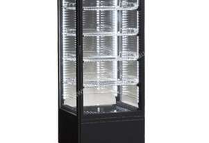 ICS Venice Tower Black 4Sided Refrigerated Display