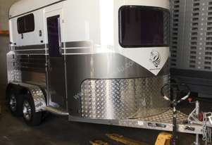 White Horse Tag Horse Float Trailer