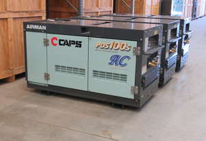 AIRMAN PDS100SC-5C5 100cfm Portable Diesel Air Compressor w/ Aftercooler